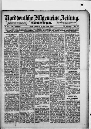 Norddeutsche allgemeine Zeitung on Mar 13, 1894