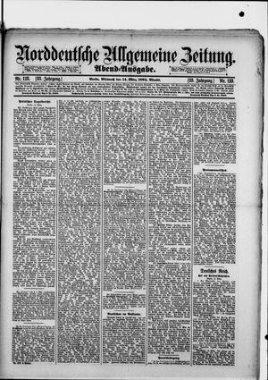 Norddeutsche allgemeine Zeitung vom 14.03.1894