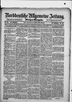 Norddeutsche allgemeine Zeitung on Mar 15, 1894