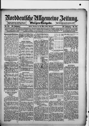 Norddeutsche allgemeine Zeitung vom 20.03.1894