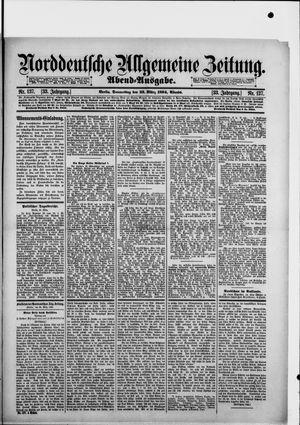 Norddeutsche allgemeine Zeitung vom 22.03.1894