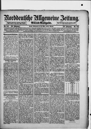 Norddeutsche allgemeine Zeitung vom 28.03.1894