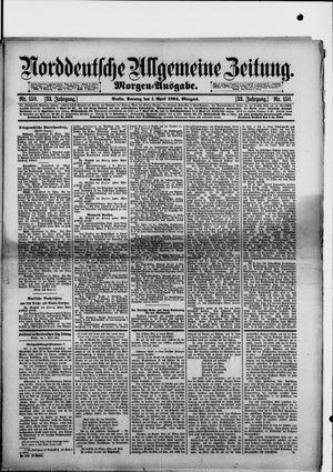 Norddeutsche allgemeine Zeitung vom 01.04.1894