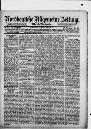 Norddeutsche allgemeine Zeitung vom 02.04.1894