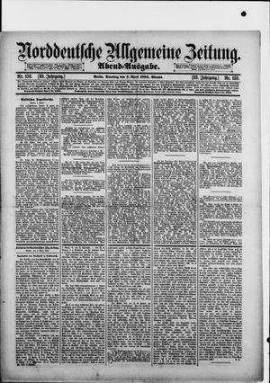 Norddeutsche allgemeine Zeitung on Apr 3, 1894
