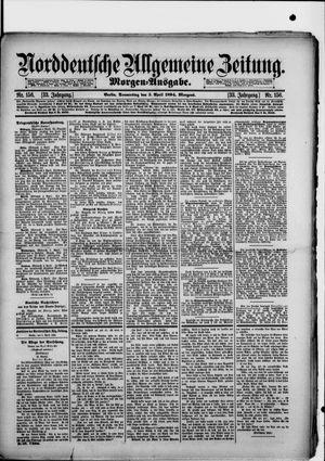 Norddeutsche allgemeine Zeitung vom 05.04.1894