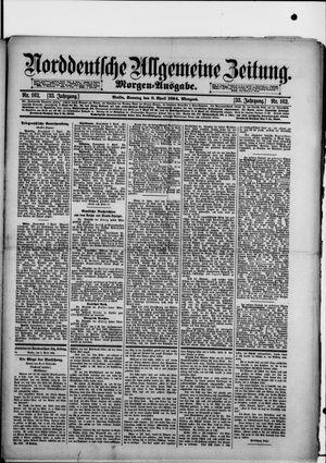 Norddeutsche allgemeine Zeitung vom 08.04.1894