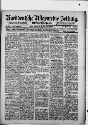 Norddeutsche allgemeine Zeitung vom 10.04.1894