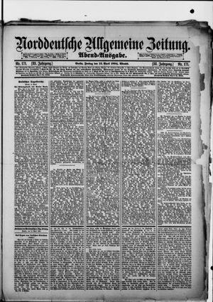 Norddeutsche allgemeine Zeitung vom 13.04.1894