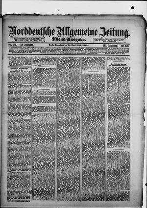 Norddeutsche allgemeine Zeitung on Apr 14, 1894