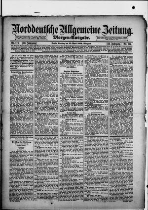 Norddeutsche allgemeine Zeitung vom 15.04.1894