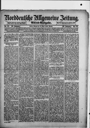 Norddeutsche allgemeine Zeitung vom 16.04.1894