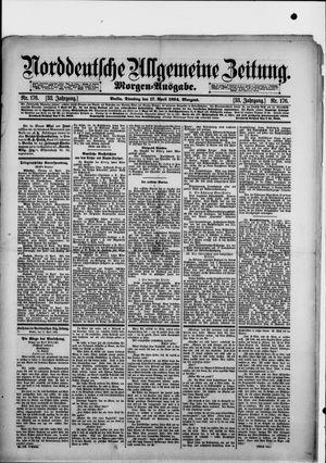 Norddeutsche allgemeine Zeitung vom 17.04.1894