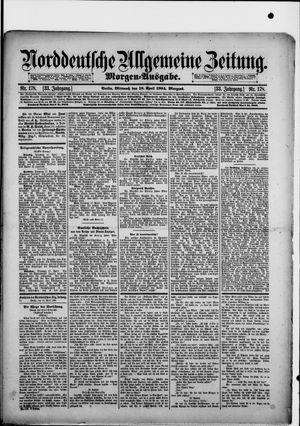 Norddeutsche allgemeine Zeitung vom 18.04.1894