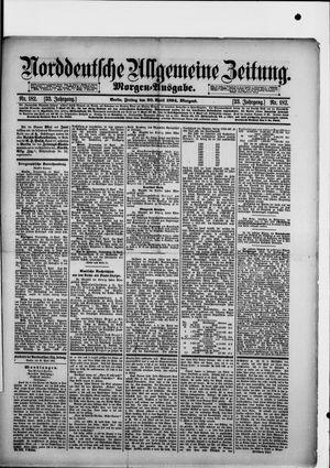 Norddeutsche allgemeine Zeitung vom 20.04.1894