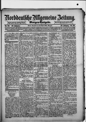 Norddeutsche allgemeine Zeitung vom 28.04.1894