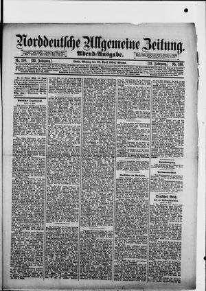 Norddeutsche allgemeine Zeitung vom 30.04.1894