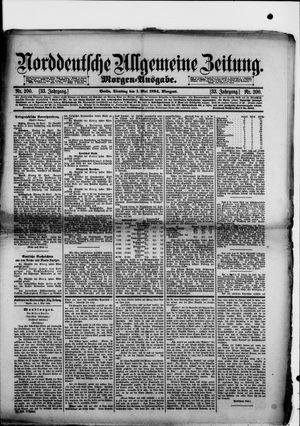 Norddeutsche allgemeine Zeitung on May 1, 1894