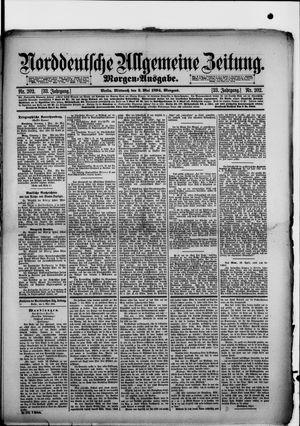 Norddeutsche allgemeine Zeitung vom 02.05.1894