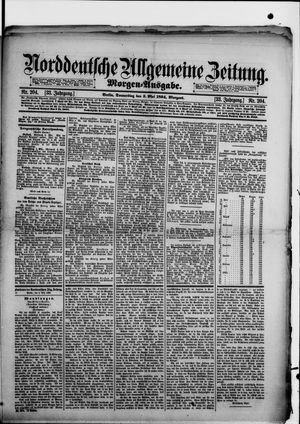 Norddeutsche allgemeine Zeitung vom 03.05.1894