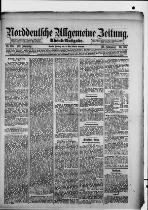 Norddeutsche allgemeine Zeitung vom 04.05.1894