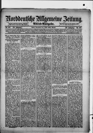 Norddeutsche allgemeine Zeitung vom 05.05.1894
