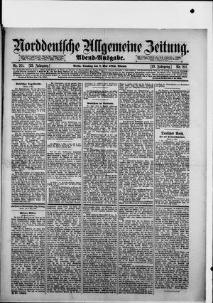 Norddeutsche allgemeine Zeitung vom 08.05.1894