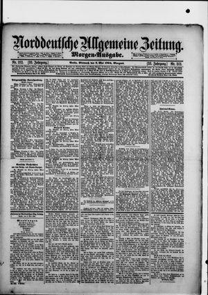 Norddeutsche allgemeine Zeitung on May 9, 1894