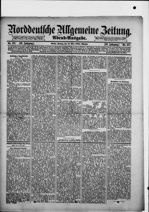 Norddeutsche allgemeine Zeitung vom 11.05.1894