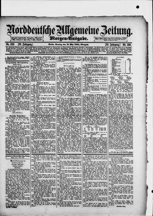 Norddeutsche allgemeine Zeitung vom 13.05.1894