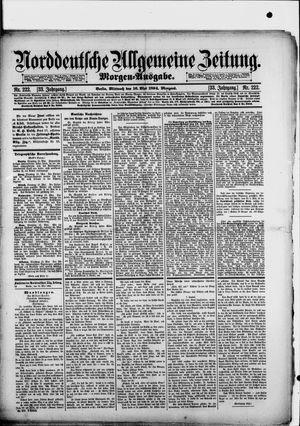 Norddeutsche allgemeine Zeitung vom 16.05.1894