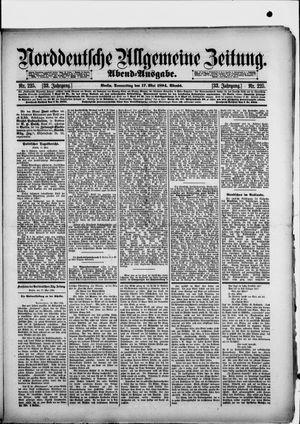 Norddeutsche allgemeine Zeitung vom 17.05.1894