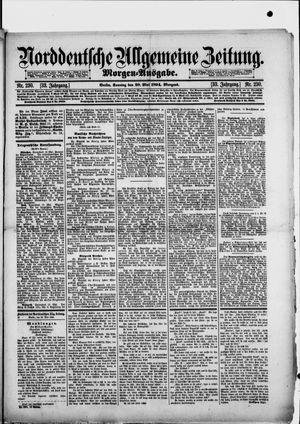 Norddeutsche allgemeine Zeitung vom 20.05.1894