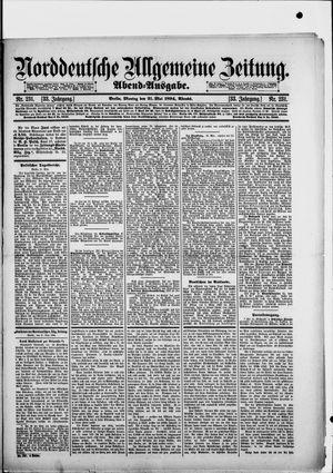 Norddeutsche allgemeine Zeitung vom 21.05.1894