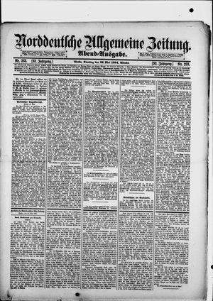 Norddeutsche allgemeine Zeitung vom 22.05.1894