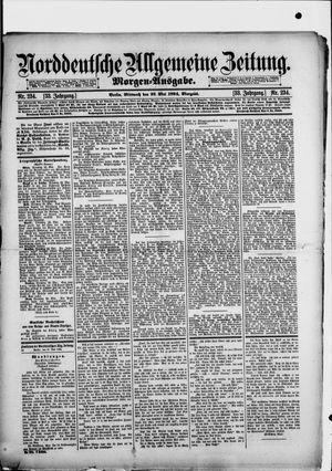 Norddeutsche allgemeine Zeitung vom 23.05.1894