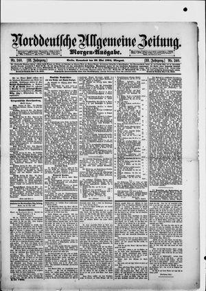 Norddeutsche allgemeine Zeitung vom 26.05.1894
