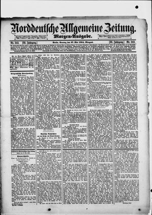 Norddeutsche allgemeine Zeitung vom 27.05.1894