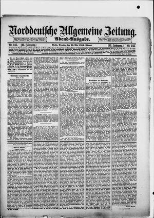 Norddeutsche allgemeine Zeitung vom 29.05.1894
