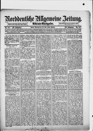 Norddeutsche allgemeine Zeitung vom 30.05.1894