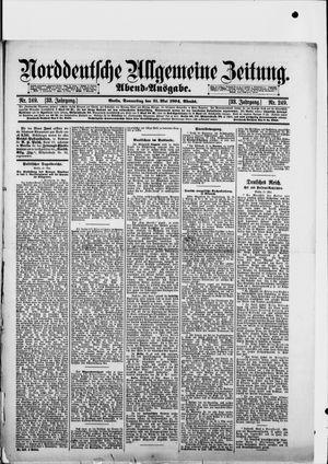 Norddeutsche allgemeine Zeitung vom 31.05.1894