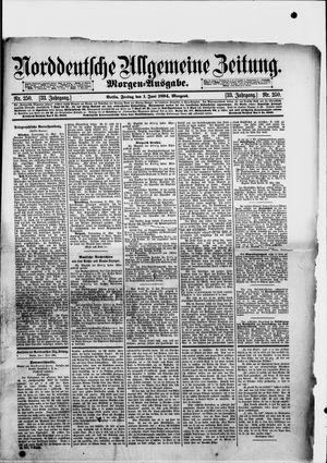 Norddeutsche allgemeine Zeitung vom 01.06.1894