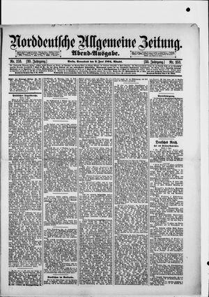 Norddeutsche allgemeine Zeitung vom 02.06.1894