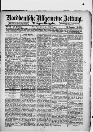 Norddeutsche allgemeine Zeitung vom 06.06.1894
