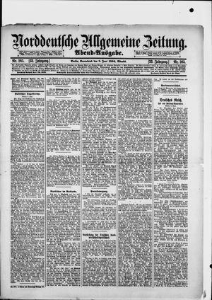 Norddeutsche allgemeine Zeitung vom 09.06.1894