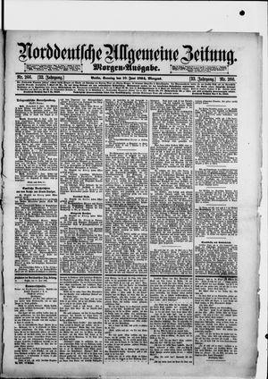 Norddeutsche allgemeine Zeitung vom 10.06.1894