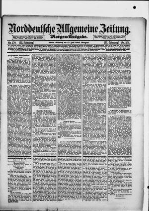 Norddeutsche allgemeine Zeitung vom 13.06.1894