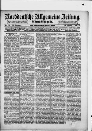 Norddeutsche allgemeine Zeitung vom 14.06.1894