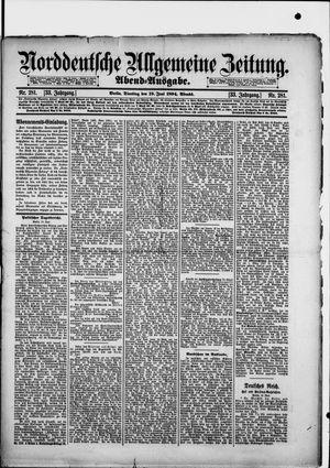 Norddeutsche allgemeine Zeitung vom 19.06.1894