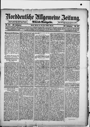 Norddeutsche allgemeine Zeitung vom 22.06.1894